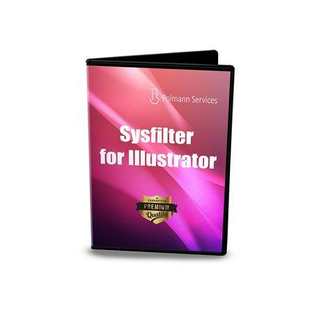 Upgrade Sysfilter für Illustrator®  CS2-CC 2018