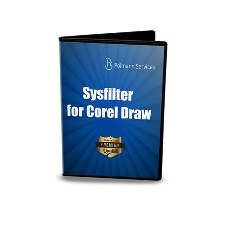 Upgrade Sysfilter para CorelDraw® 12-X7