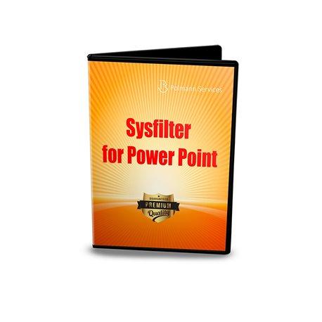 Sysfilter für PowerPoint®