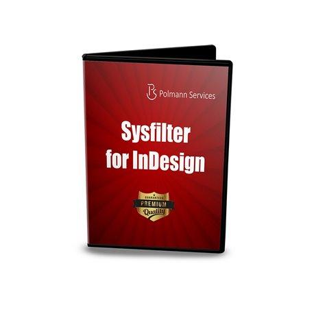 Upgrade Sysfilter para Indesign®